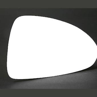 Right Stick-On Mirror Glass for VAUXHALL CORSA mk3 2006-2014