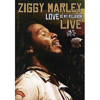 Ziggy Marley - kærlighed er min Religion Live [DVD] USA importerer