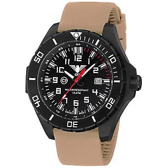 KHS watches mens watch black steel KHS country leader. LANBS. ST