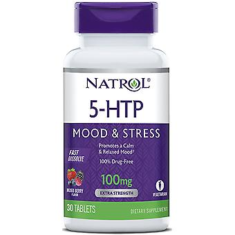 Natrol 5HTP Fast Dissolve 100 mg 30 tabs (Vitamins & supplements , Special supplements)