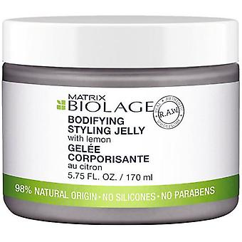 Biolage Raw Bodyifying Styling Jelly With Lemon 170 ml (Hair care , Styling products)