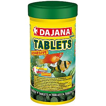 Dajana Pastillas Adhesivas 250 ml (Fish , Food , Warm Water)