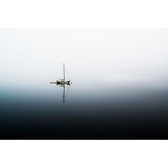 Tranquility I Poster Print by Vladimir Kostka
