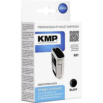 KMP Ink replaced HP 88 Compatible Black