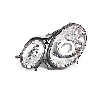 Left Headlamp (Electric With Motor) for Mercedes E-CLASS 2002-2006