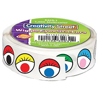 Wiggle Eyes Stickers .5