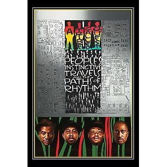 A Tribe Called Quest Peoples Instinctive Travels And Paths Of Rhythm Poster Print