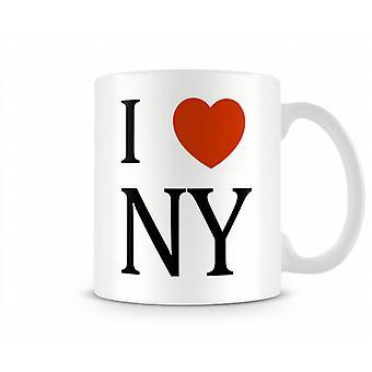 Amo la tazza stampata NY