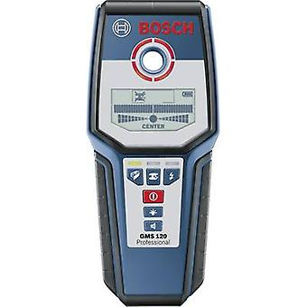 Bosch Professional Detector GMS 120 0601081000 Locating depth (max.) 120 mm Suitable for Wood, Ferrous metal, Non-ferrous metal, Live wires