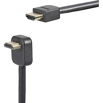 SpeaKa Professional HDMI Cable [1x HDMI plug - 1x HDMI plug] 0.9 m Black