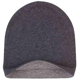 Johnstons of Elgin Reversible Jersey Hat - Light Grey/Mid Grey