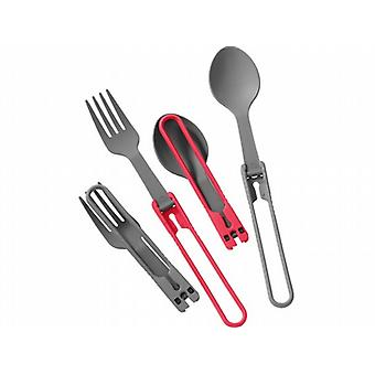 MSR Folding Spoon and Fork Utensil Set (4pc)