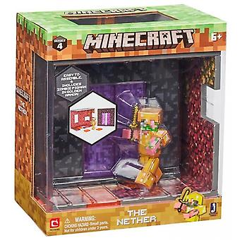 Minecraft-The Nether Biome play sets Action Figure Set Series 4