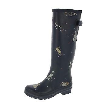 Joules Wellyprint Tall Wellies