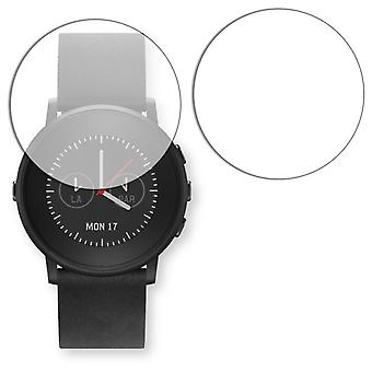 Pebble time round display protector - Golebo crystal clear protection film