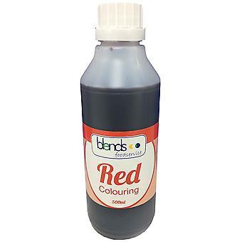 Rote Lebensmittelfarbe Mischungen