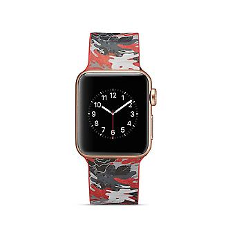 Siliconen klockrem voor Apple Watch 4 40 mm, 3/2/1-38 mm-Cartoon patroon