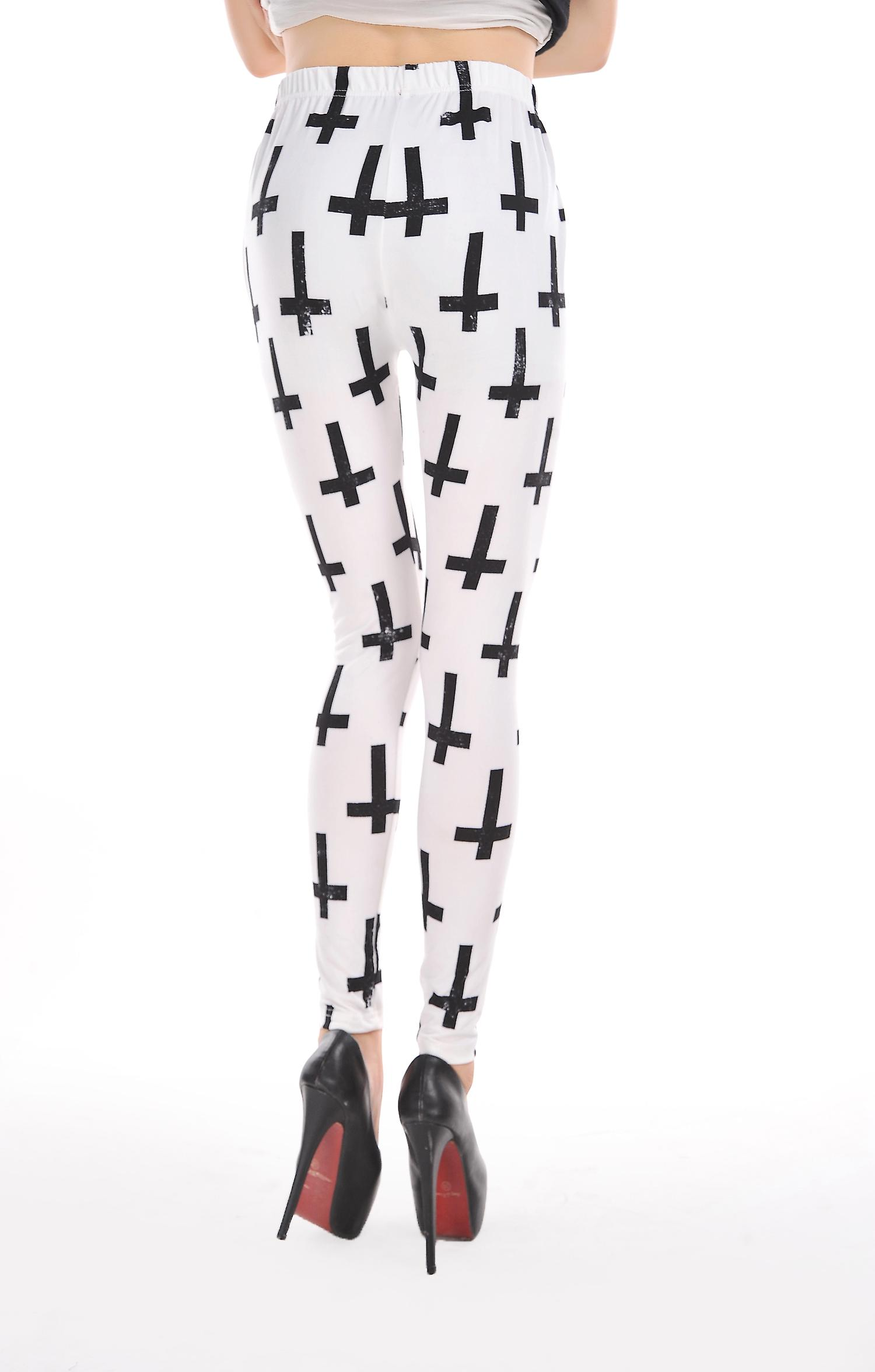Waooh - Fashion - Legging cross motif