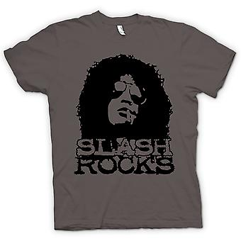 Kids t-skjorte - Slash gitar Rock - Guns n Roses