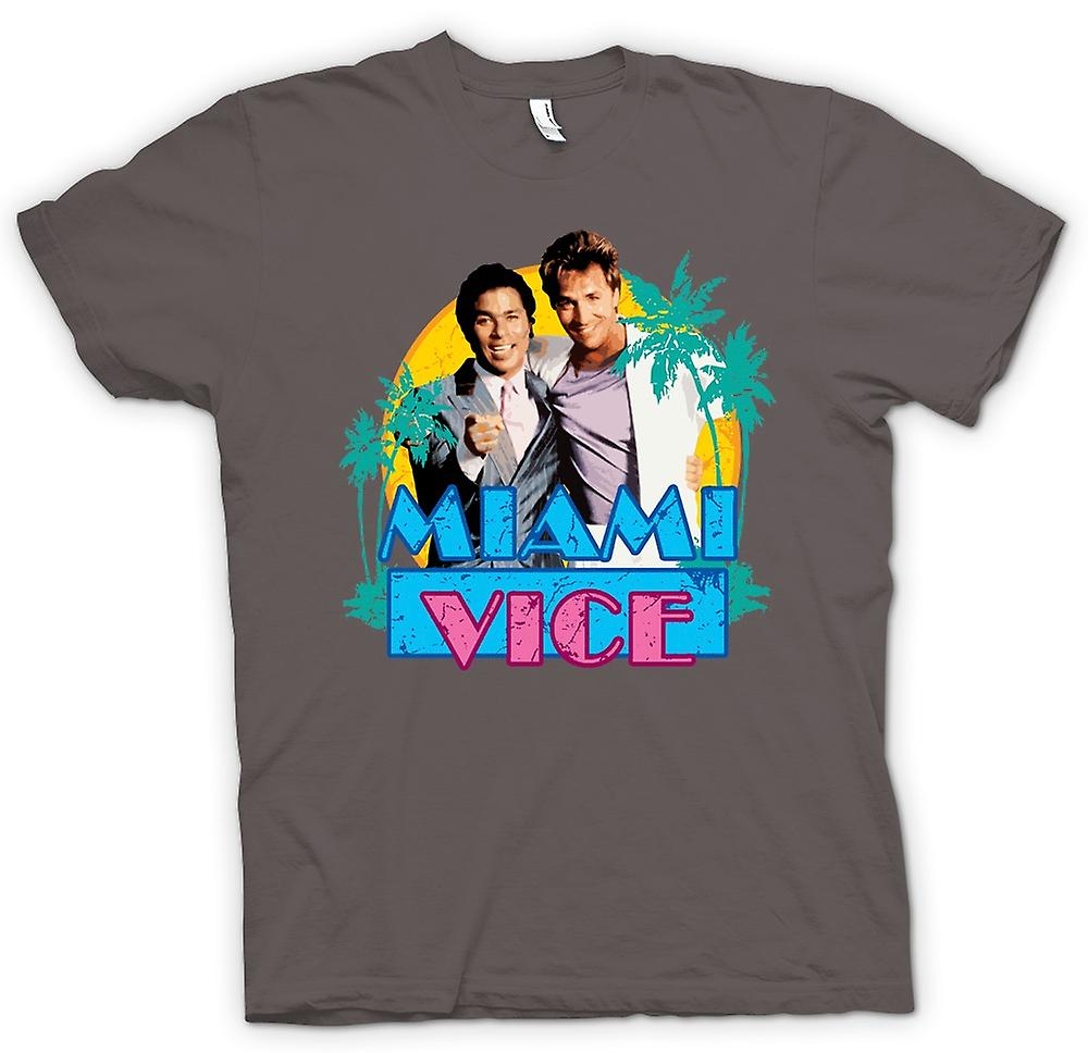 Mens T-shirt - Miami Vice - Crockett And Tubbs
