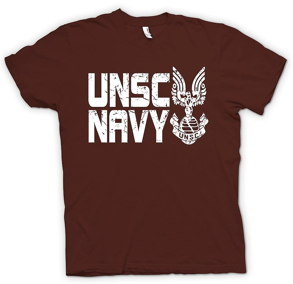 Mens T-shirt - Marina UNSC Logo - Gamer