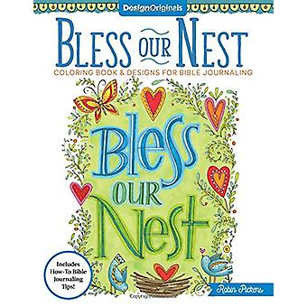 Bless Our Nest Coloring Book by Robin Pickens - 9781497202771 Book