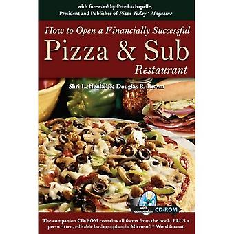 How to Open a Financially Successful Pizza and Sub Restaurant: Get Yourself a Slice of the Pie