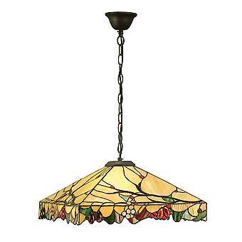 Arbois Medium med en Tiffany stil ljus tak-hänge - interiör 1900 63907