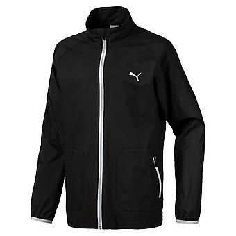 PUMA boys wind children woven jacket black