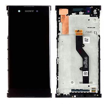 Sony дисплей LCD полный для Xperia XA1 плюс 78PB6100010 черный запасные части новых