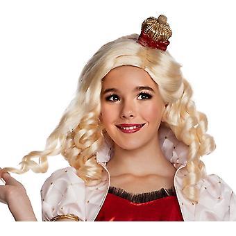Eah Apple White Wig For Children