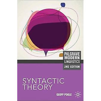 Syntactic Theory by Poole & Geoffrey