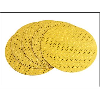 VELCRO SANDING PAPER PERFORATED TO SUIT WS-702 100 GRIT PACK 25