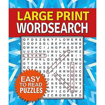 Large Print Wordsearch by Arcturus Publishing - 9781788281652 Book