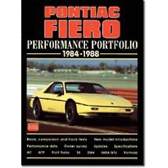 Pontiac Fiero Performance Portfolio 1984-88 (Revised edition) by R. M