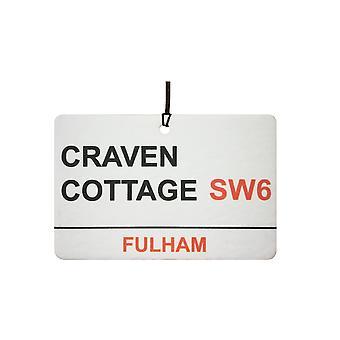 Fulham / Craven Cottage Street Sign Car Air Freshener