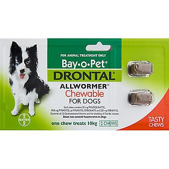 Drontal Chewable Dogs - 2 Chews