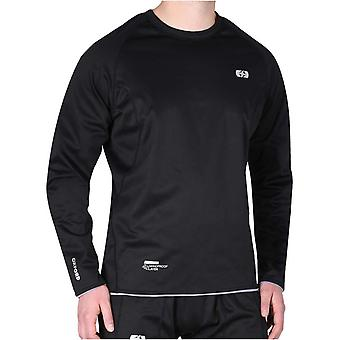 Oxford Black Chillout Long Sleeved Cycling Jersey