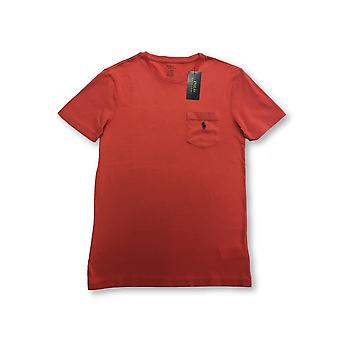 Ralph Lauren Polo custom slim fit T-shirt in post red