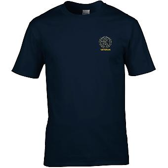 Small Arms School Embroidered Veteran - Licensed British Army Embroidered Premium T-Shirt