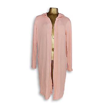 N'importe qui Femmes-apos;s Pull Loungewear Hacci Wrap Cardigan Rose A345302