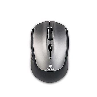 NGS frizz BT optisk mus Bluetooth 1 600 dpi 5 nøkler med flere farger grå