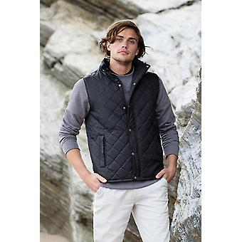 Front row diamond quilt gilet fr903