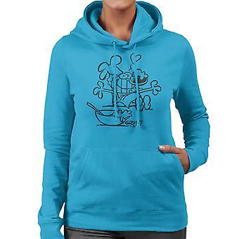 Grimmy Cooking Women's Hooded Sweatshirt