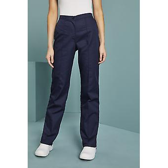 Simon Jersey Women's Flat Front Trousers