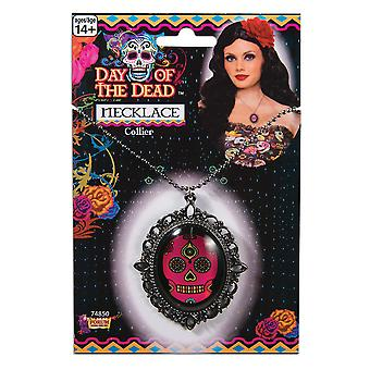 Bristol Novelty Day Of The Dead Necklace
