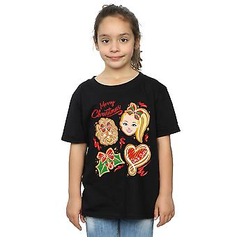JoJo Siwa Girls Christmas Gingerbread T-Shirt