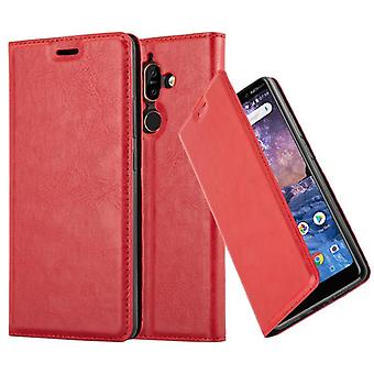 Cadorabo Case for Nokia 7 PLUS Case Cover - Phone Case with Magnetic Closure, Stand Function and Card Case Compartment - Case Cover Case Case Case Case Book Folding Style