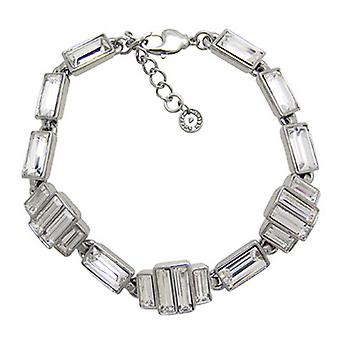 Butler and Wilson Thin Art Deco Style Bracelet with Baguette Stones
