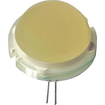 LED wired Yellow Circular 20 mm 23 mcd 120 ° 30 mA 6.3 V LUMEX